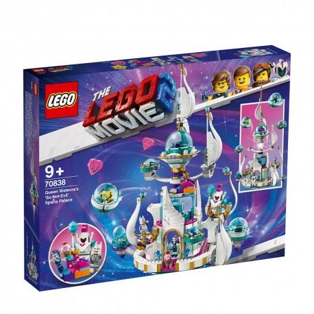 """70838 LEGO Movie 2 - """" Съвсем незлият """" космически дворец на Кралица КакватоИскаДае"""
