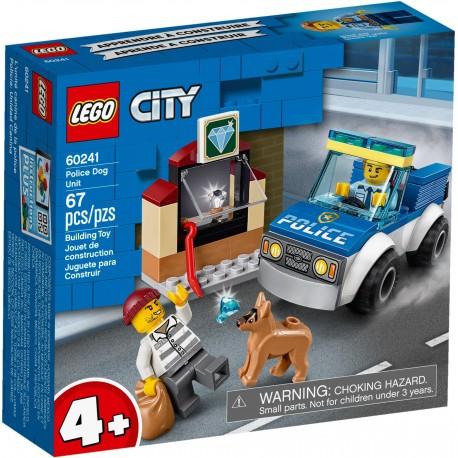 60241 LEGO® CITY - Полицейски отряд с куче