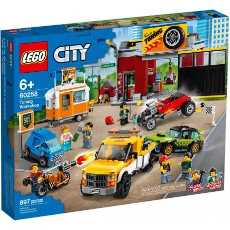60258 LEGO® CITY Tuning Workshop - Сервиз за тунинг