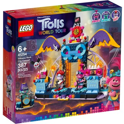 41254 LEGO® Trolls World Tour - Рок концерт във вулкана