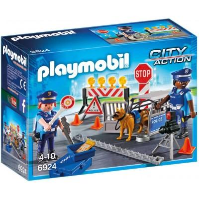6924 Playmobil - Полицейска блокада