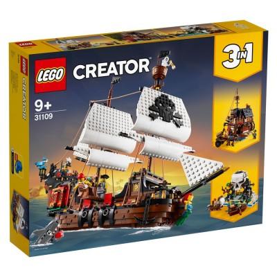 31109 LEGO® CREATOR - Пиратски кораб ( 3 в 1 )