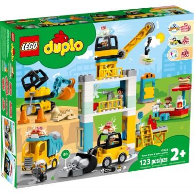 10933 LEGO® DUPLO Town - Строителен кран