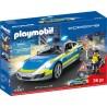 70066 Playmobil - Porsche Carrera 911 4 S Полицейска кола със светлинни и звукови ефекти
