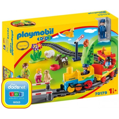 70179 Playmobil - Моят първи комплект влакче