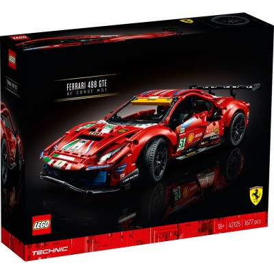 42125 LEGO® TECHNIC - Ferrari 488 GTE AF Corse 51
