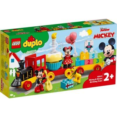10941 LEGO® DUPLO - Влак за рождения ден на Mickey и Minnie