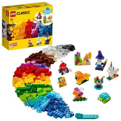 11013 LEGO® CLASSIC - Творчески прозрачни тухлички