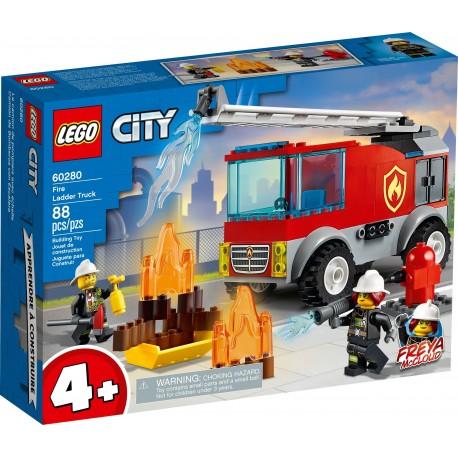 60280 LEGO® CITY - Пожарникарски камион със стълба