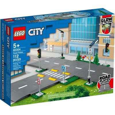 60304 LEGO® CITY - Пътни плочи и табели
