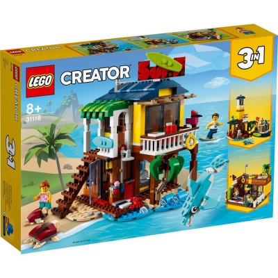 31118 LEGO® CREATOR - Плажна къща за сърф ( 3 в 1 )