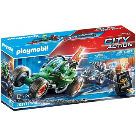 70577 Playmobil - Полицейско преследване на картинг