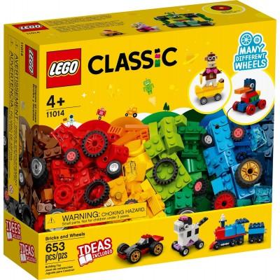 11014 LEGO® CLASSIC - Тухлички и колела