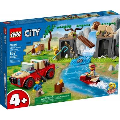 60301 LEGO® CITY Wildlife - Спасителен офроуд джип