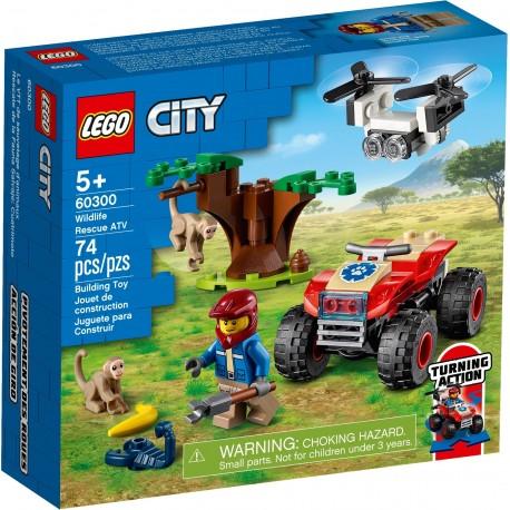 60300 LEGO® CITY Wildlife - Спасително АТВ