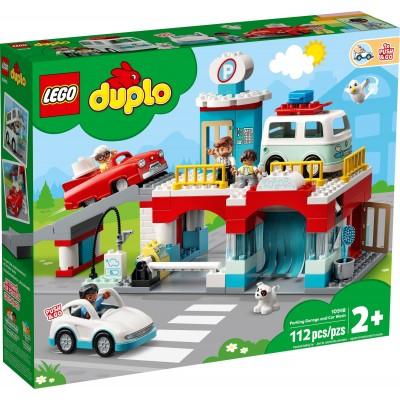 10948 LEGO® DUPLO - Паркинг и автомивка