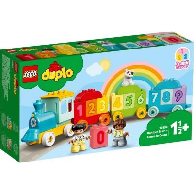 10954 LEGO® DUPLO -  Влакът на числата - научете се да броите