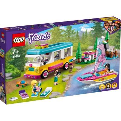 41681 LEGO® FRIENDS - Горски кемпер и платноходка