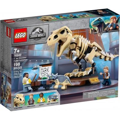 76940 LEGO® JURASSIC WORLD - Изложба на вкаменен Трекс