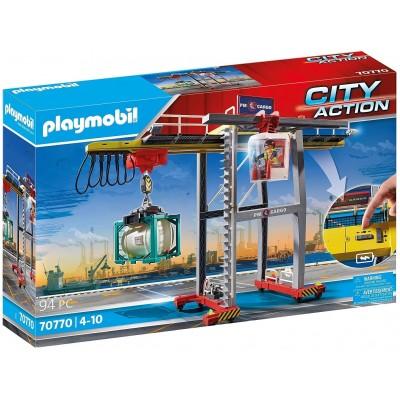70770 Playmobil - Товарен кран с контейнер