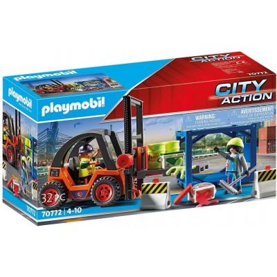 70772 Playmobil - Мотокар с товар