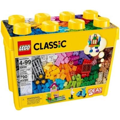 10698 LEGO CLASSIC - Large Creative Brick Box | Голяма творческа кутия за блокчета