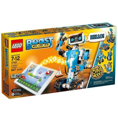 17101 LEGO BOOST Creative Toolbox - Робот 5-в-1