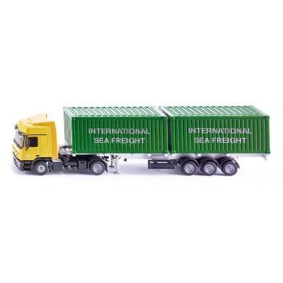 3921 SIKU Мерцедес Actros контейнеровоз