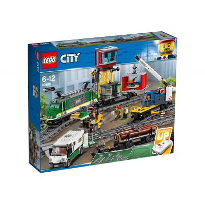 60198 LEGO® CITY - Cargo Train | Товарен влак