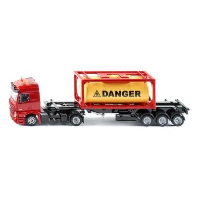 3922 SIKU - Камион Мерцедес-Бенц с контейнер за цистерна