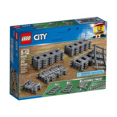60205 LEGO CITY - Релси за влак