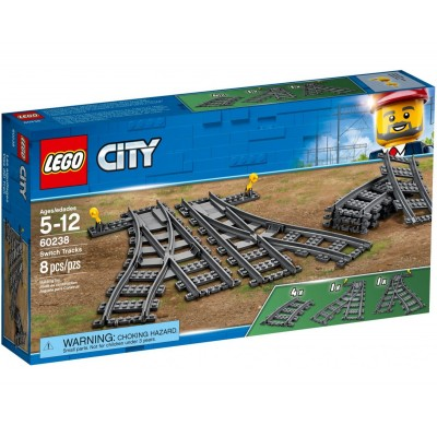 60238 LEGO CITY - Switching Tracks | Релси и стрелки
